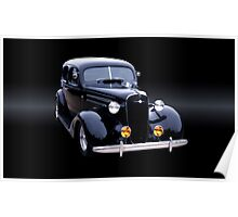 1935 Chevy Master Sedan A Poster