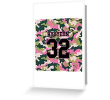 Girls' Generation (SNSD) HYOYEON 'PINK ARMY' Greeting Card