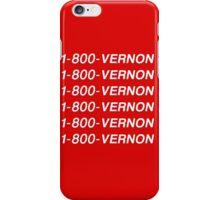 SEVENTEEN 1-800-VERNON iPhone Case/Skin