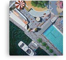 Luna Park by Stephanie Burns Canvas Print