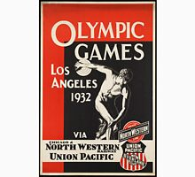 Vintage poster - Olympics 1932 Los Angeles Unisex T-Shirt