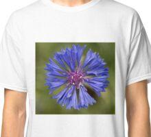 Blue Purple Cornflower Classic T-Shirt
