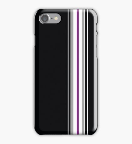 Asexual Pride Flag iPhone Case/Skin