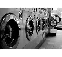 Launderette Photographic Print
