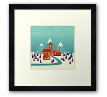 Village Framed Print