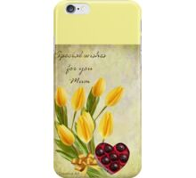 Special Wishes for Mum iPhone Case/Skin
