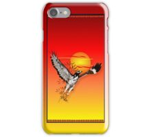 Augur meeting the morning sun.  iPhone Case/Skin