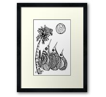 Wee Three, Hello Summer Framed Print