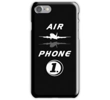 Air Phone 1 Black iPhone Case/Skin