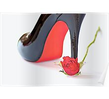 The Rose & Shoe Poster