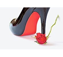 The Rose & Shoe Photographic Print