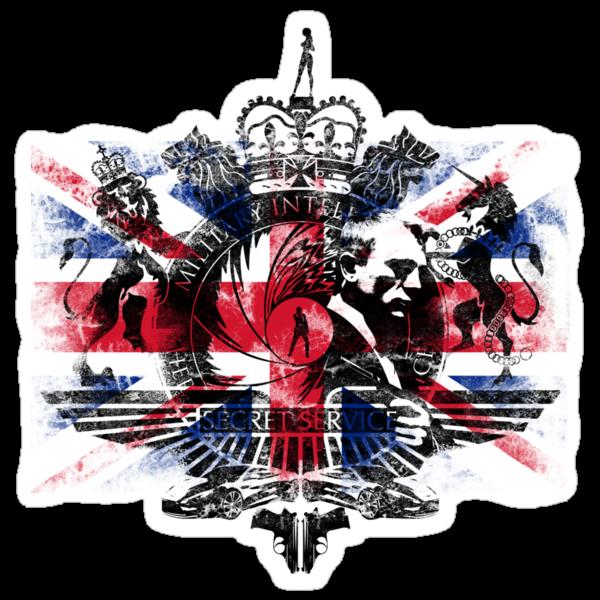 50th Anniversary Secret Agent Tee_Union Jack by bengrimshaw