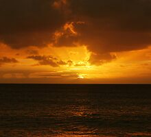 Caribbean Sunset by barnsis