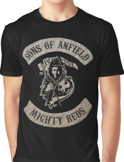 Sons of Anfield - Mighty Reds Graphic T-Shirt