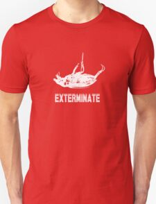 Exterminate T-shirt/Hoodie white T-Shirt