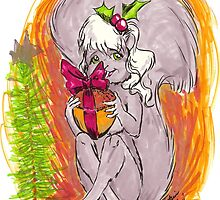 The Squirrel Nut Gift by Moonscream