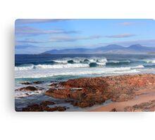 Raw Tasmania Metal Print