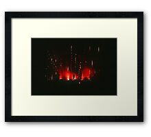 Immerse Your Soul In Love Framed Print