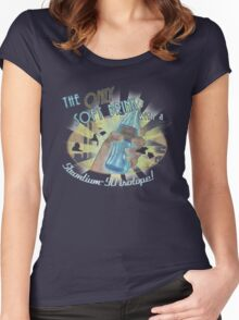 Quantum Women's Fitted Scoop T-Shirt
