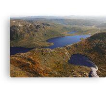 Beautiful Tasmania - overflying Dove Lake Canvas Print