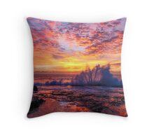 Gerroa Sunrise Throw Pillow