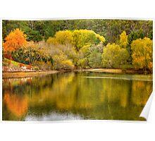 Autumn by the Lake - Mt Lofty Botanic Gardens, Adelaide Hills, SA Poster