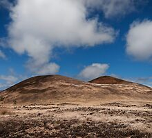 Volcanic landscape 3 by Alex Preiss