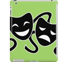 Theater Masks iPad Case/Skin