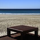 A Seat At The Beach by Noel Elliot