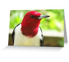 Woodpeckers Worldwide Avatar Entry Greeting Card