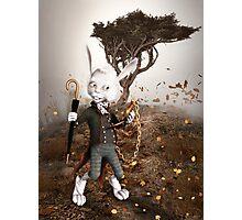 White Rabbit Photographic Print