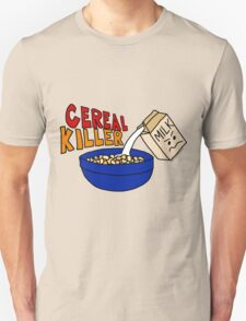 Cereal Killer, Funny Breakfast Food Shirt T-Shirt