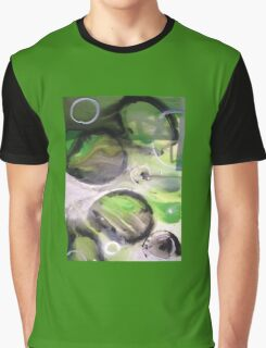 Abstract Leaf Biology Graphic T-Shirt