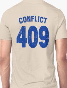 Team shirt - 409 Conflict, blue letters T-Shirt