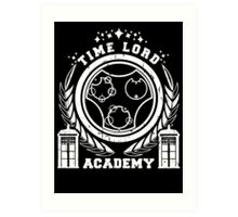 time lord academy Art Print