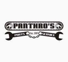 Pantrho's Parts and Service (black) by gorillamask