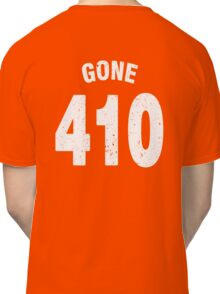 Team shirt - 410 Gone, white letters Classic T-Shirt