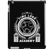 time lord academy iPad Case/Skin