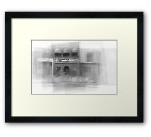 Annie's Bar and Grill Toronto Framed Print