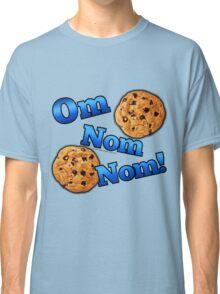 Om Nom Nom, Yummy Cookies Classic T-Shirt