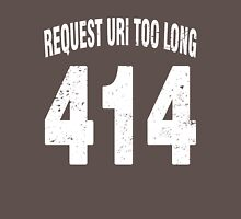 Team shirt - 414 Request URI Too Long, white letters Unisex T-Shirt