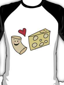 Cute Macaroni and Cheese Love T-Shirt