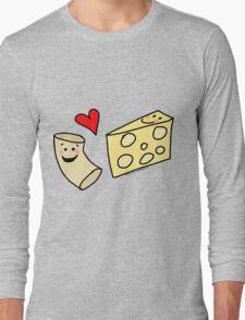 Cute Macaroni and Cheese Love Long Sleeve T-Shirt