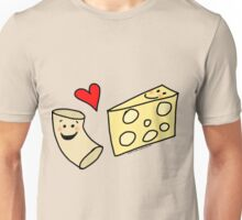 Cute Macaroni and Cheese Love Unisex T-Shirt