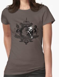 50th Anniversary James Bond Tee_Grunge effect Womens Fitted T-Shirt