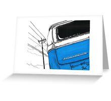 Blue Bay Greeting Card
