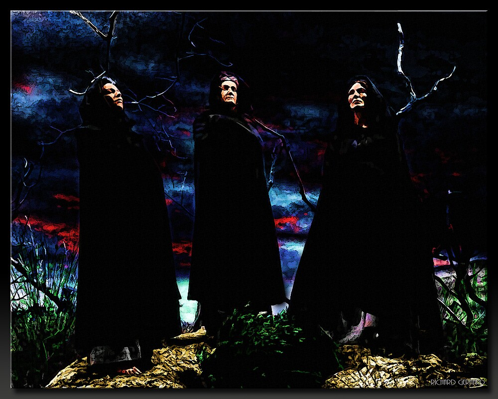The Witches by Richard  Gerhard