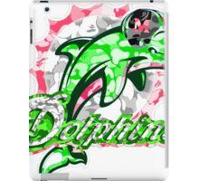 DOLPHINS WHITE iPad Case/Skin