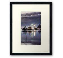 Port Albert Marina Framed Print