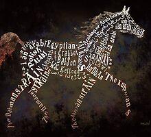 Arabian Beauty in Typography by Ginny Luttrell
